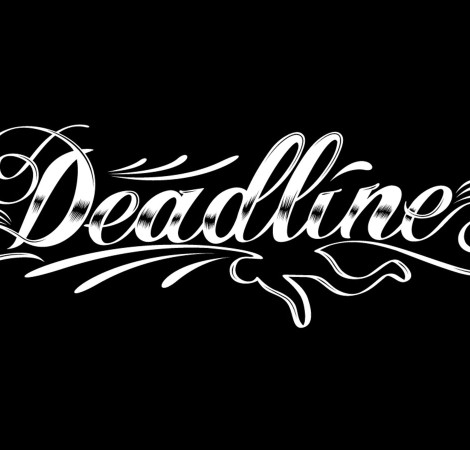 Deadline typeography