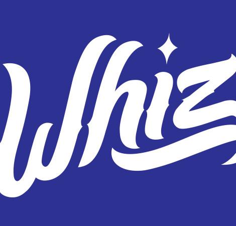 Whiz: lettering